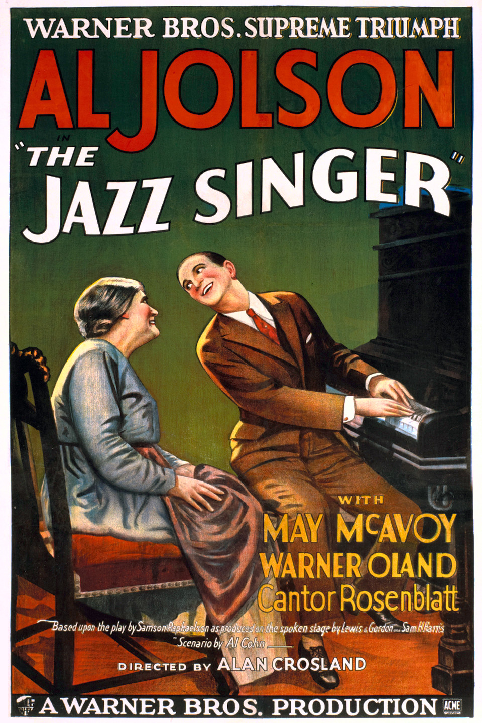 The Jazz Singer (1927) Technical Specifications