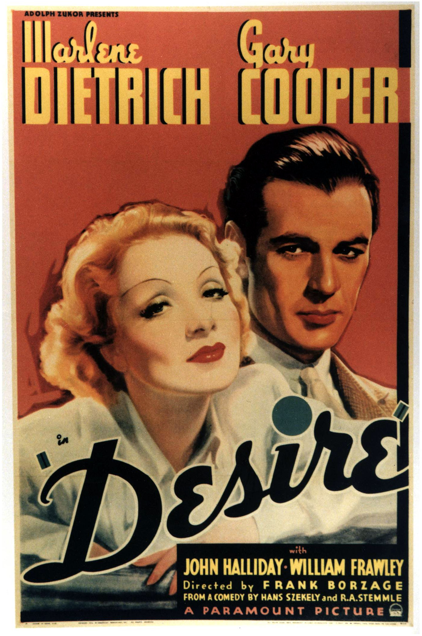 Desire (1936) Technical Specifications
