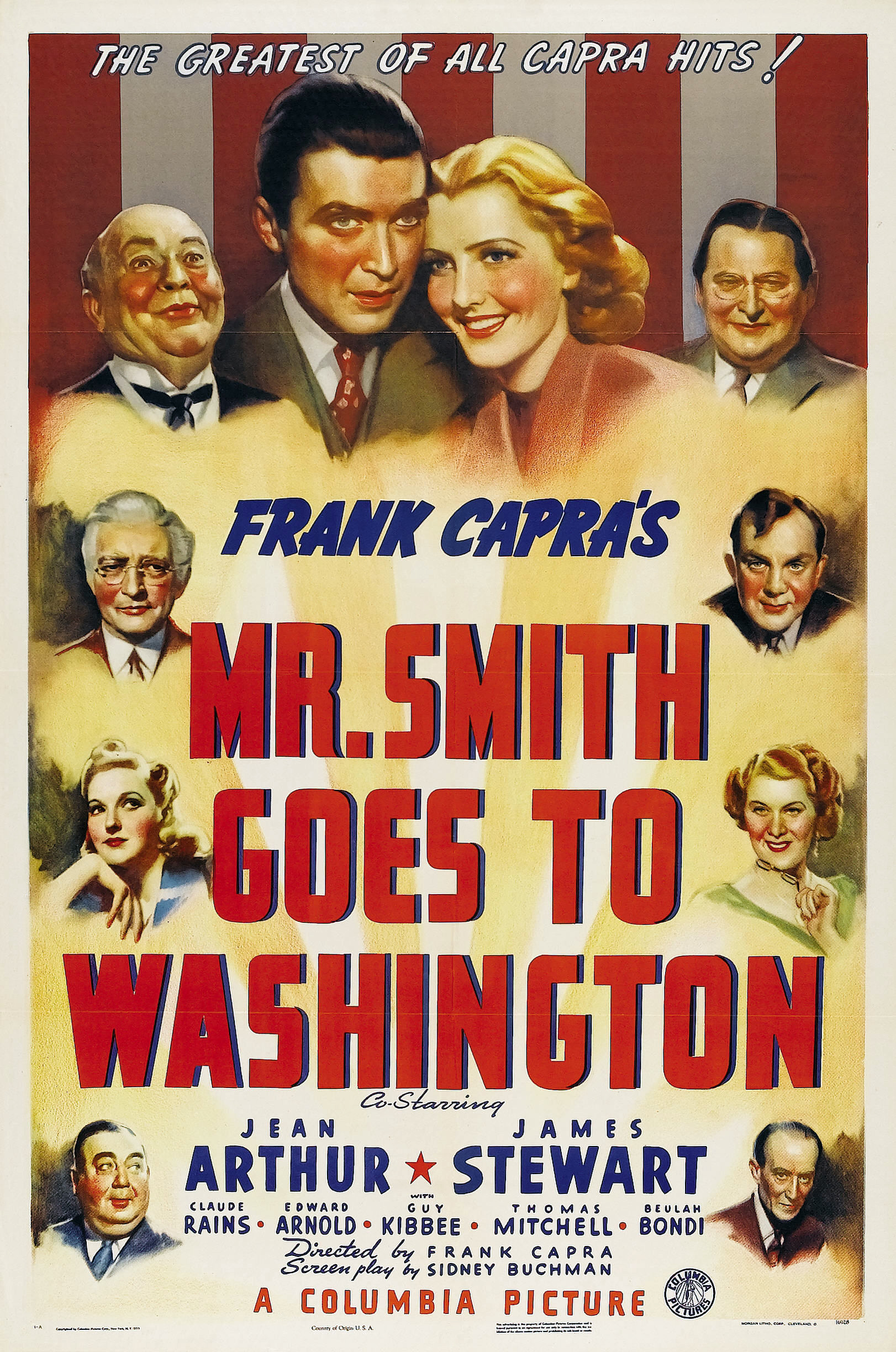 Mr. Smith Goes to Washington (1939) Technical Specifications