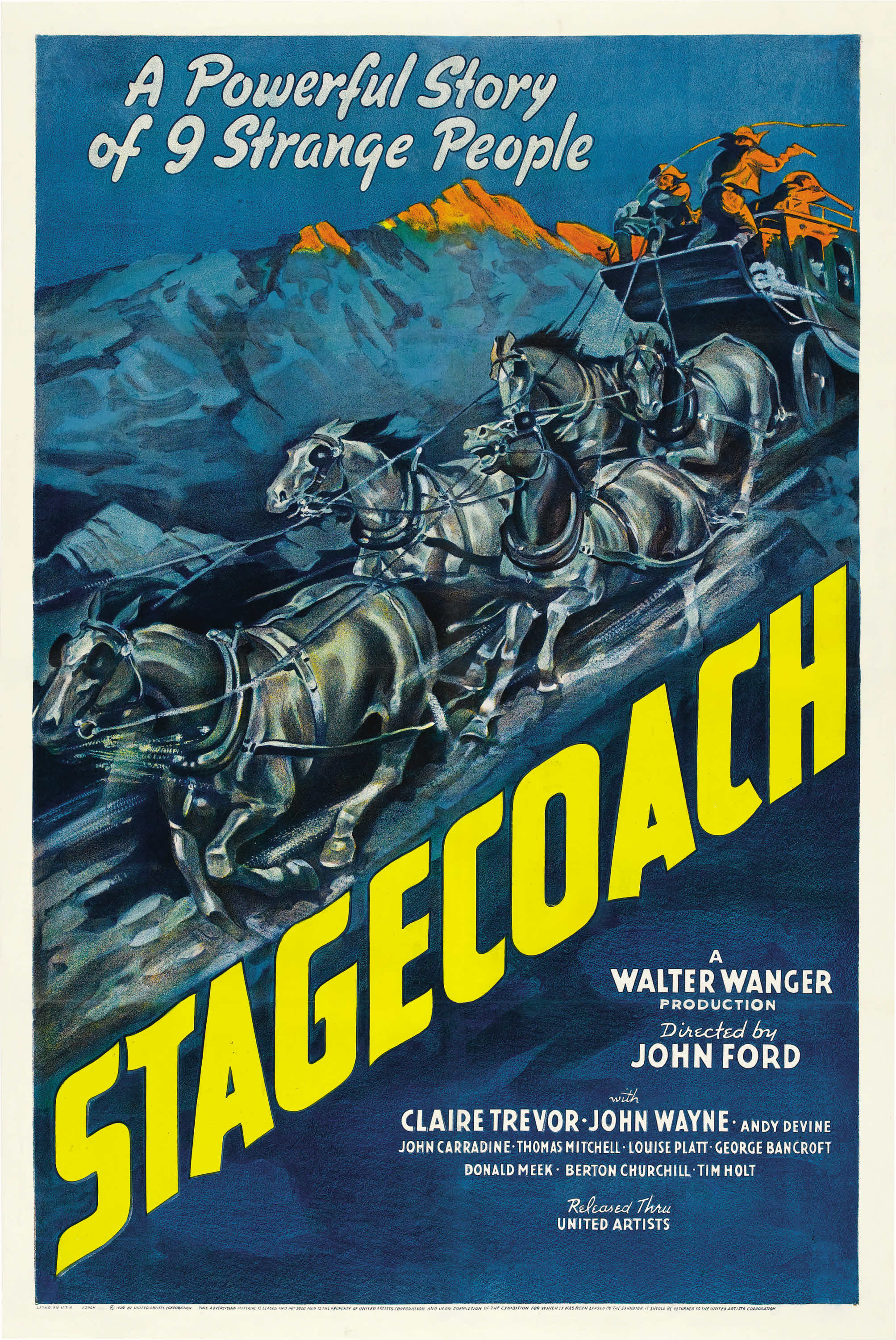 Stagecoach (1939) Technical Specifications