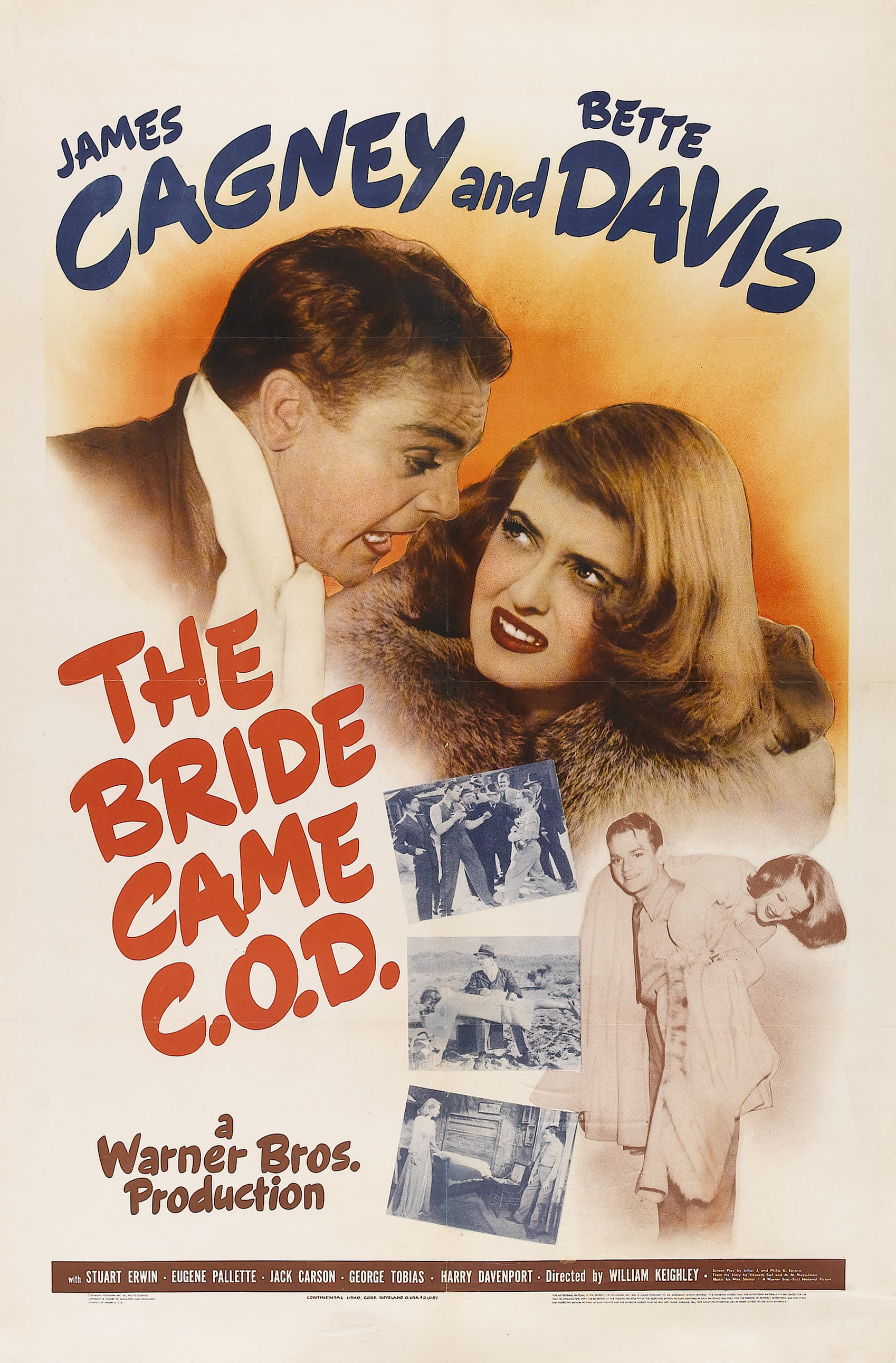 The Bride Came C.O.D. (1941) Technical Specifications