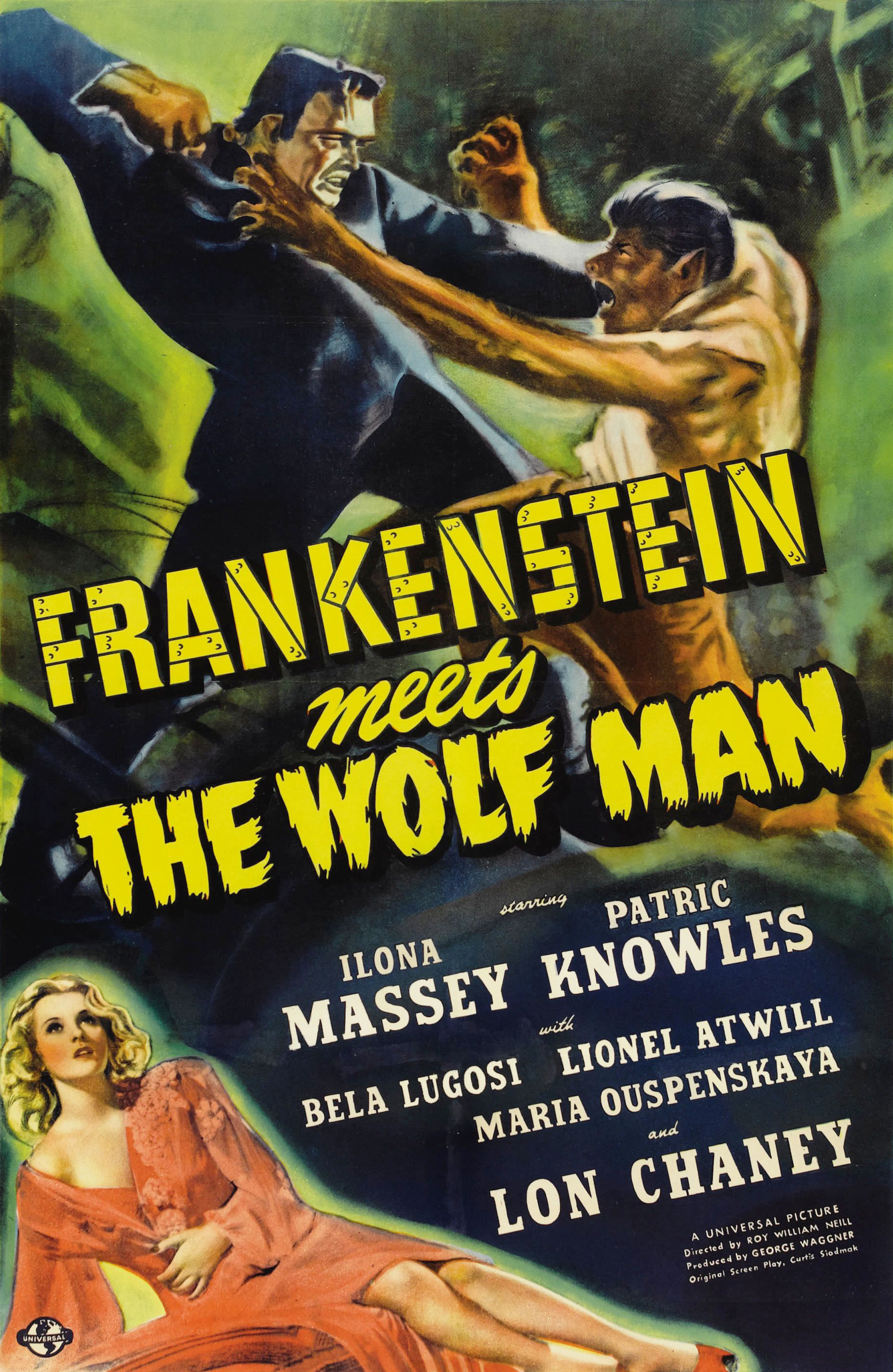 Frankenstein Meets the Wolf Man (1943) Technical Specifications