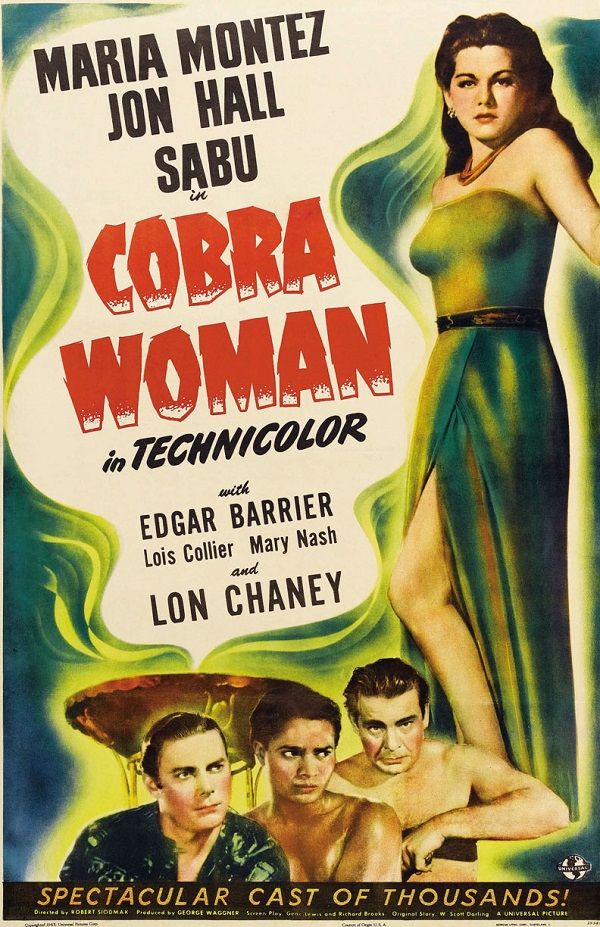 Cobra Woman (1944) Technical Specifications