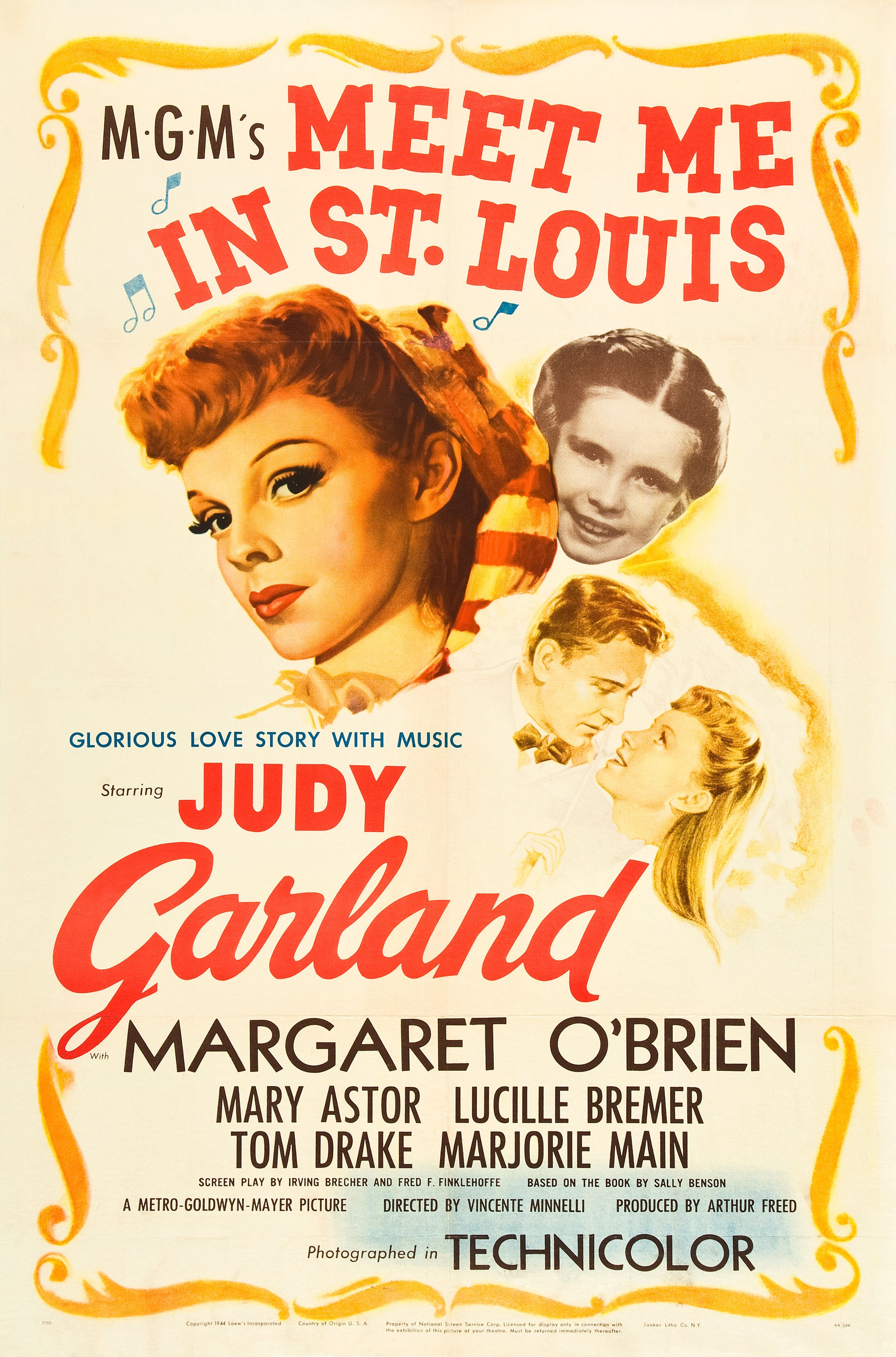 Meet Me in St. Louis (1944) Technical Specifications