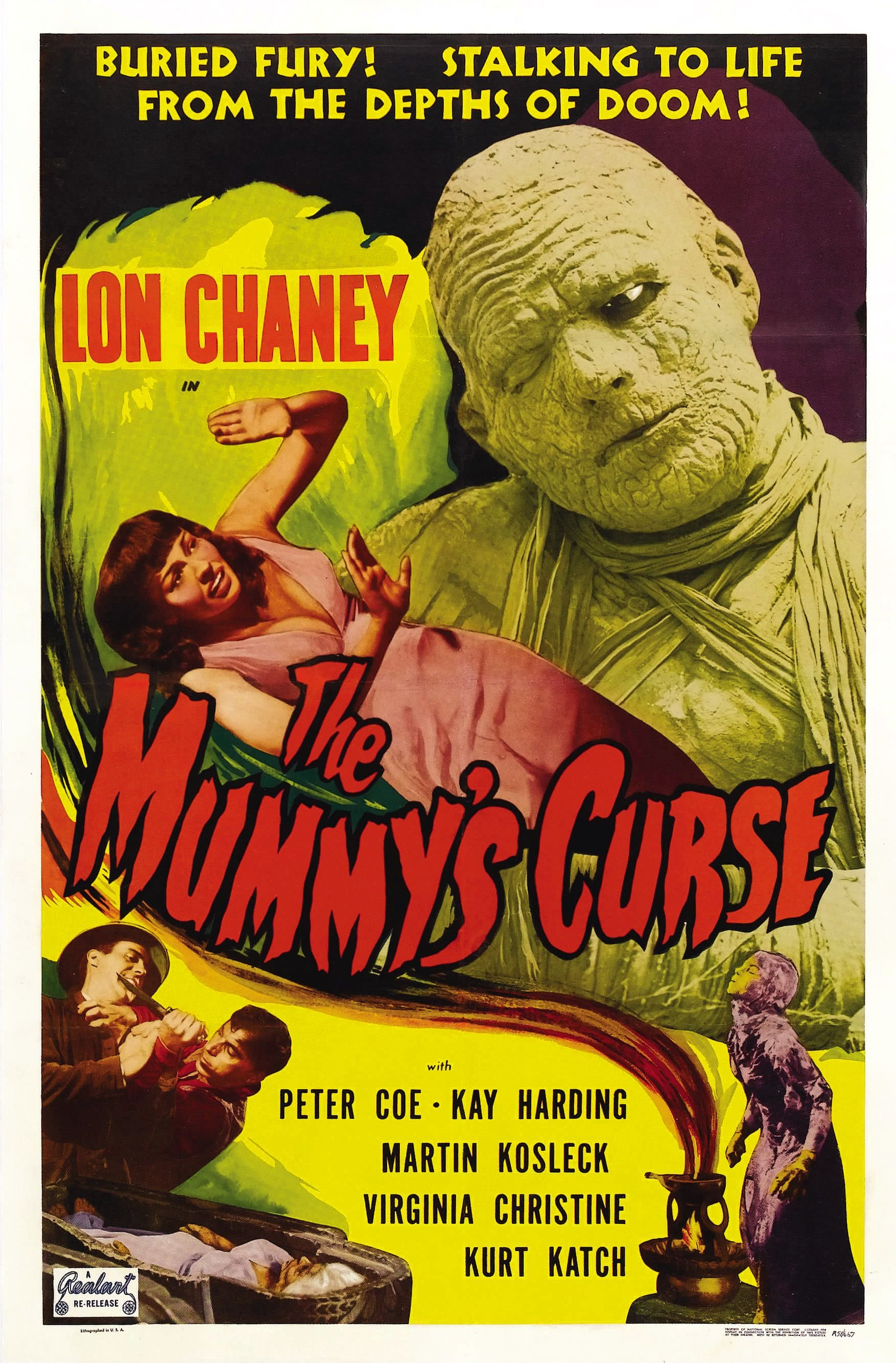 The Mummy's Curse (1944) Technical Specifications