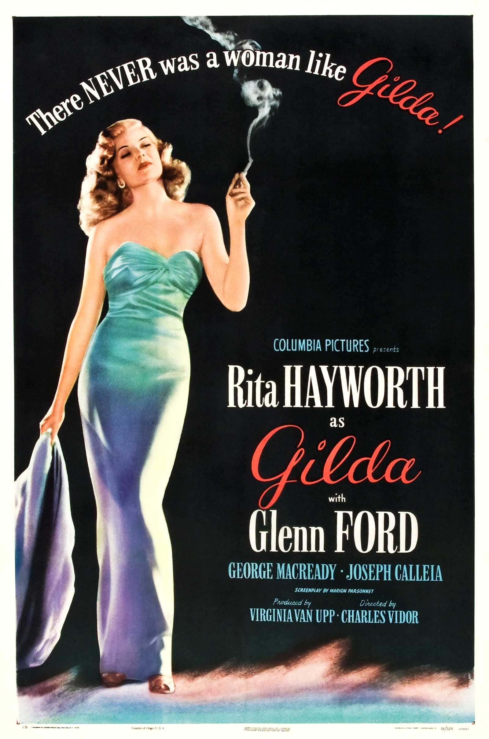 Gilda (1946) Technical Specifications