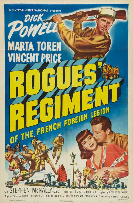 Rogues' Regiment (1948) Technical Specifications