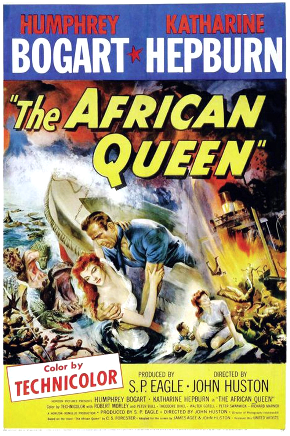 The African Queen (1951) Technical Specifications