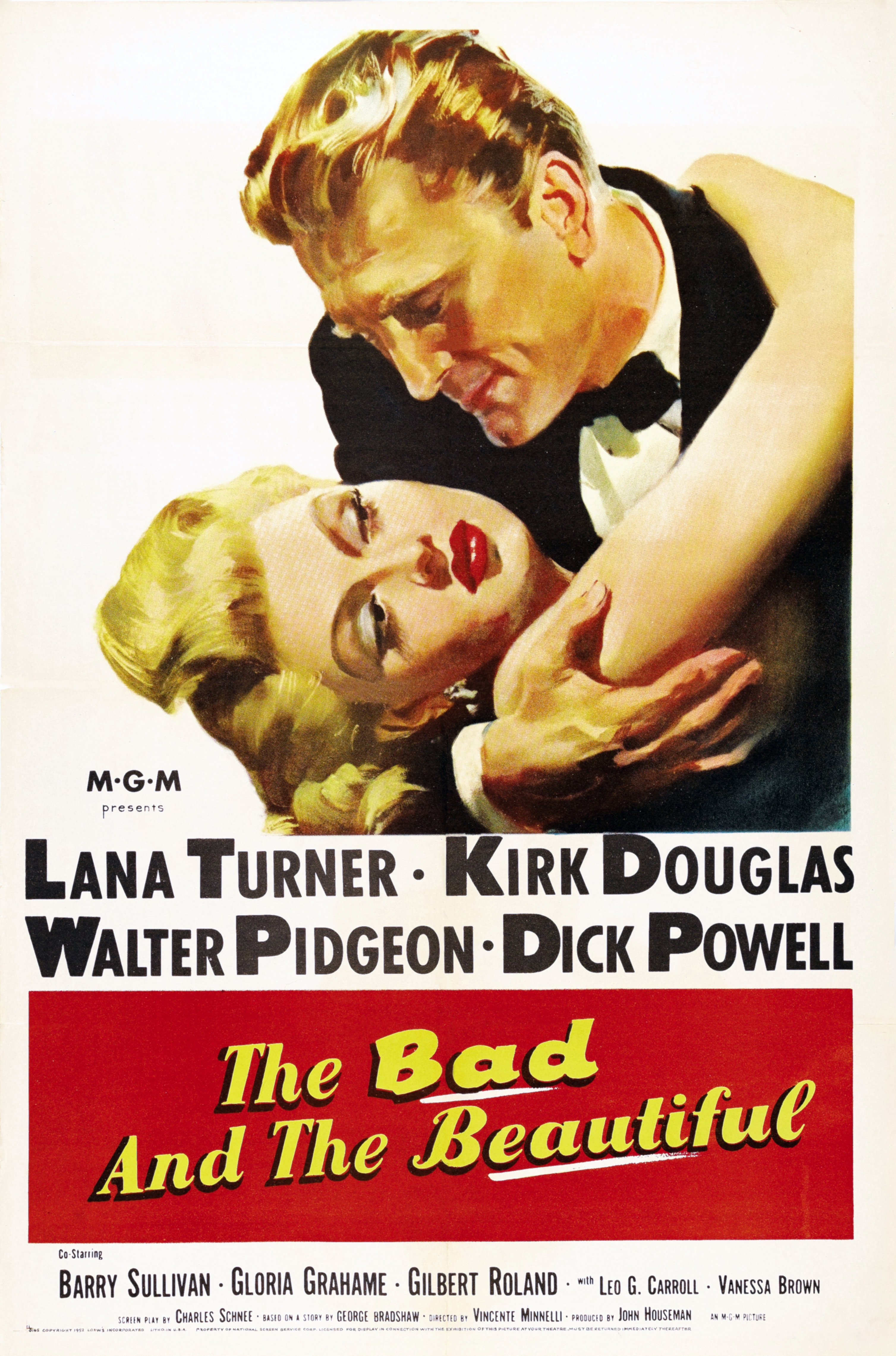 The Bad and the Beautiful (1952) Technical Specifications