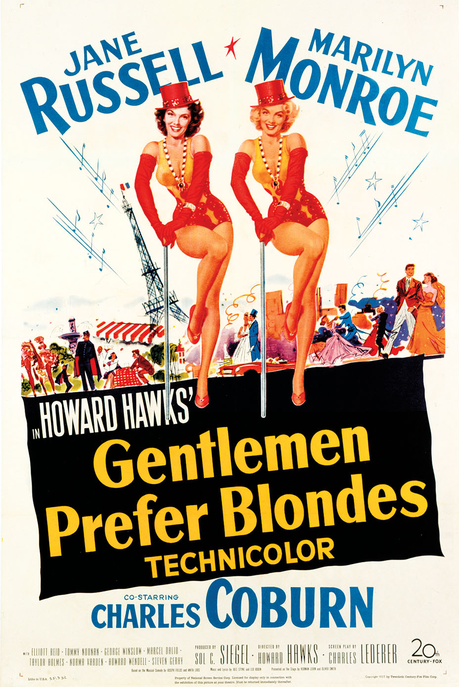 Gentlemen Prefer Blondes (1953) Technical Specifications