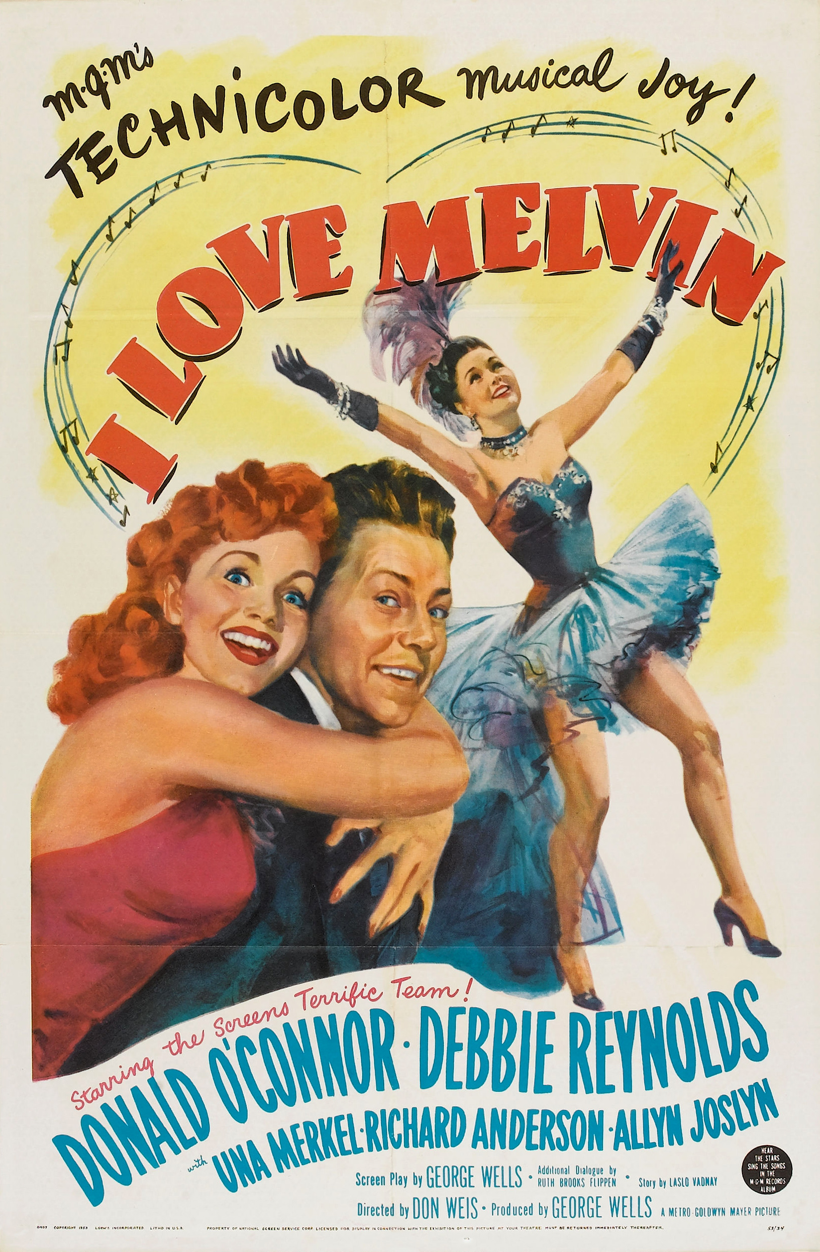 I Love Melvin (1953) Technical Specifications