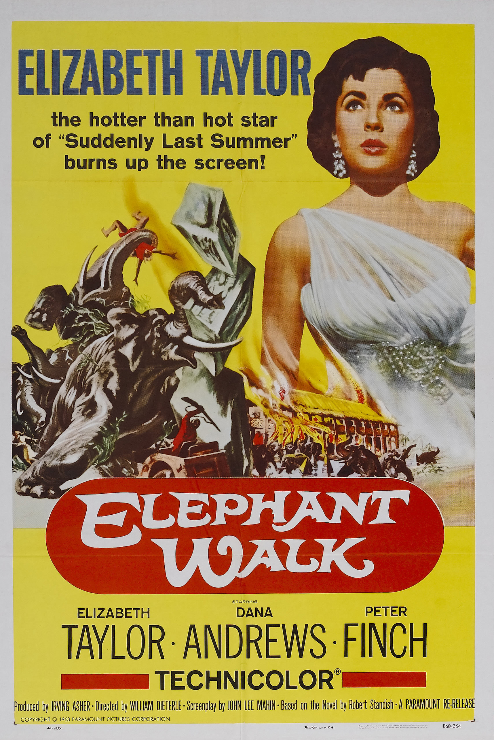 Elephant Walk (1954) Technical Specifications
