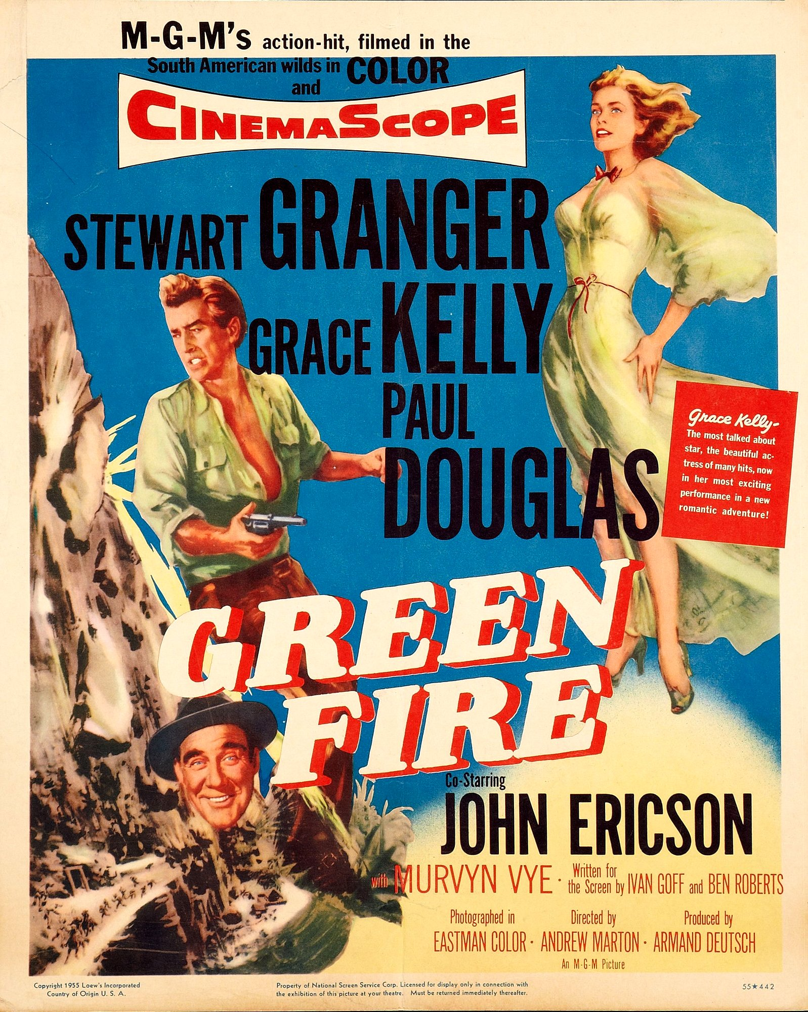 Green Fire (1954) Technical Specifications