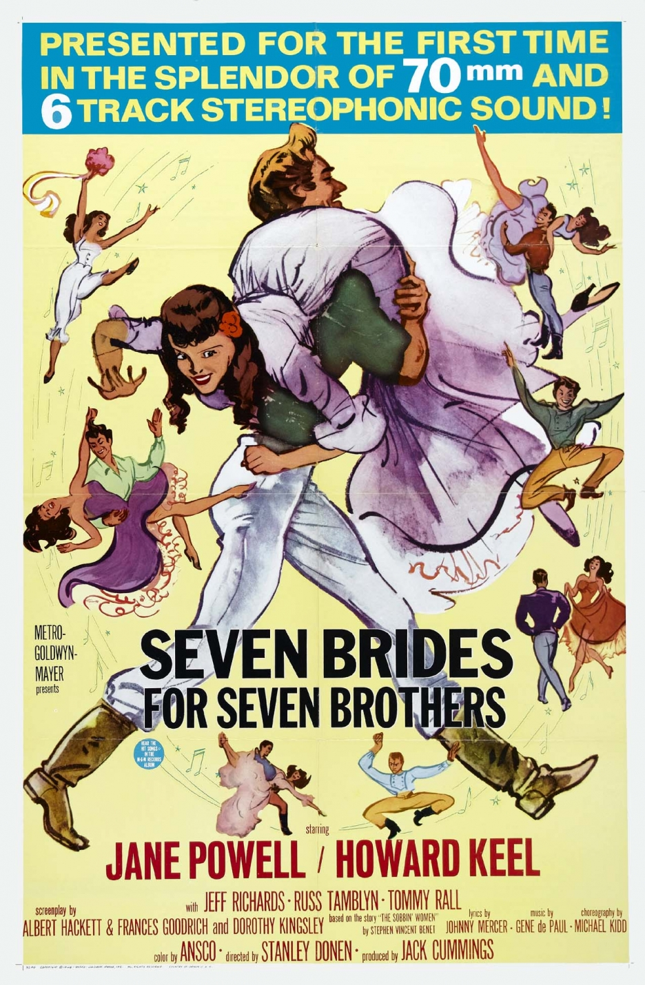 Seven Brides for Seven Brothers (1954)  Technical Specifications