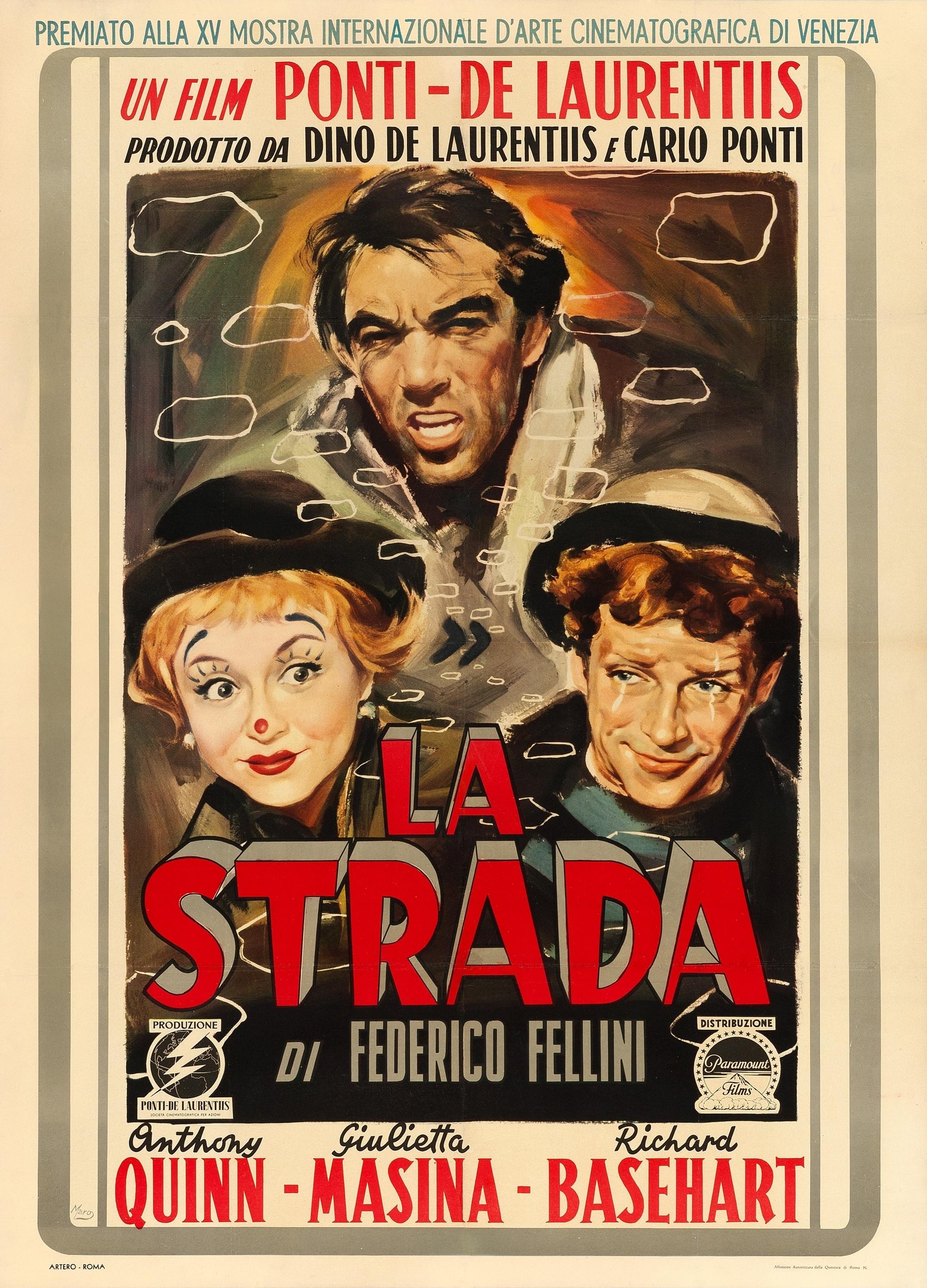 La Strada (1954) Technical Specifications
