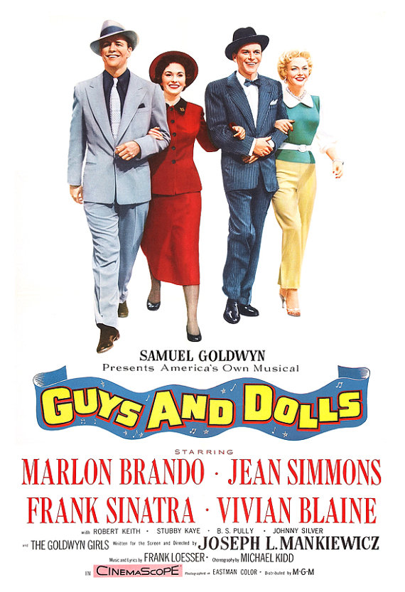 Guys And Dolls (1955) Technical Specifications
