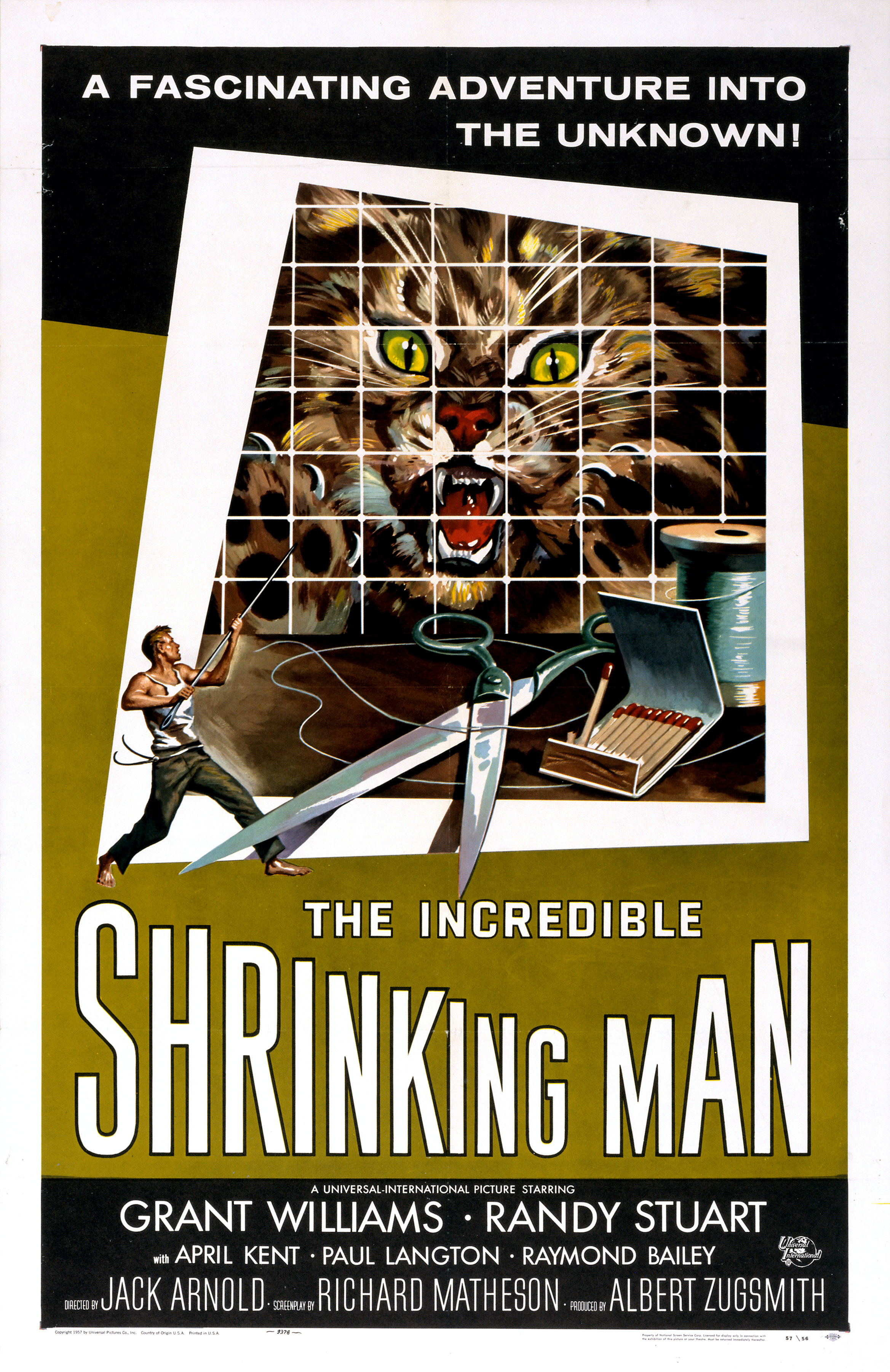 The Incredible Shrinking Man (1957) Technical Specifications