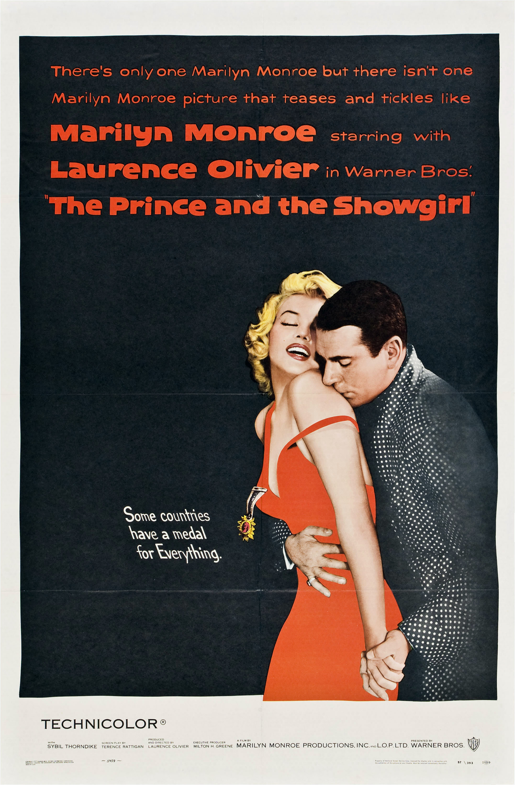 The Prince and the Showgirl (1957) Technical Specifications