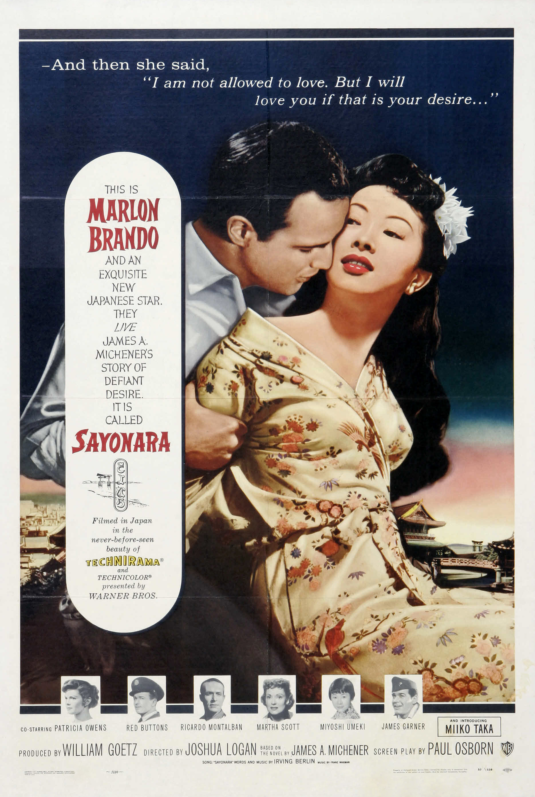 Sayonara (1957) Technical Specifications