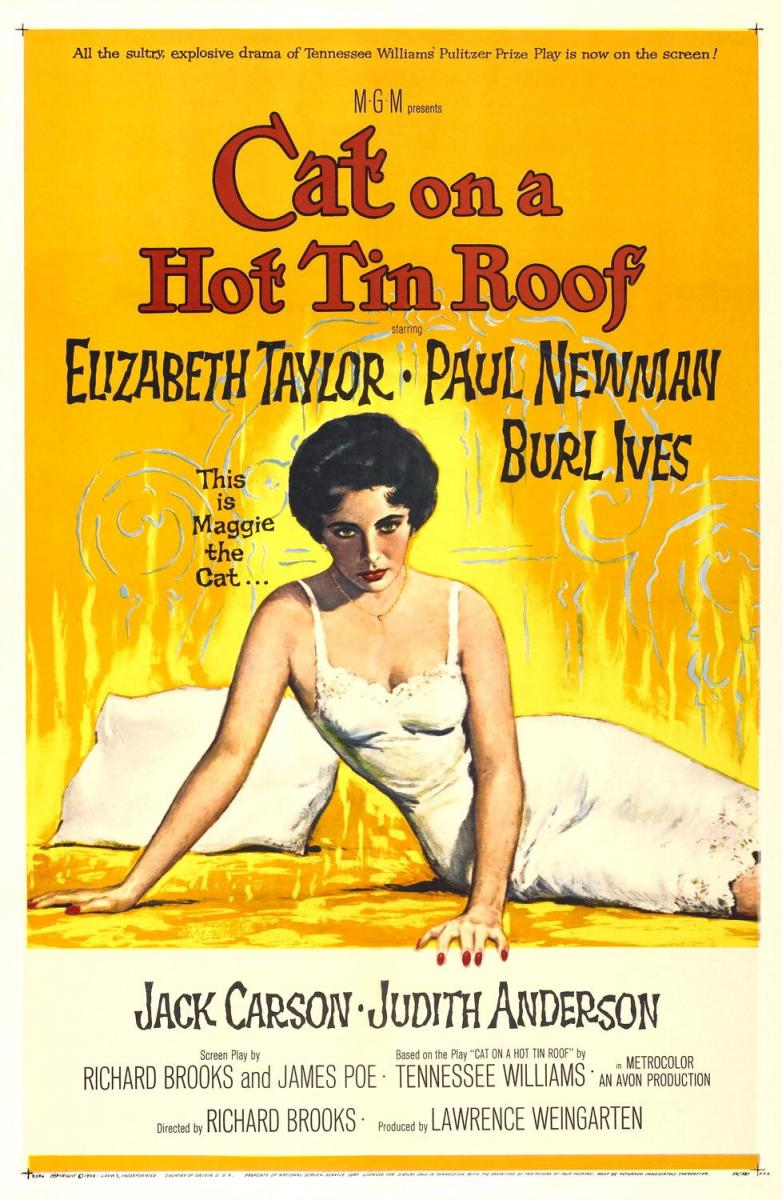 Cat on a Hot Tin Roof (1958) Technical Specifications
