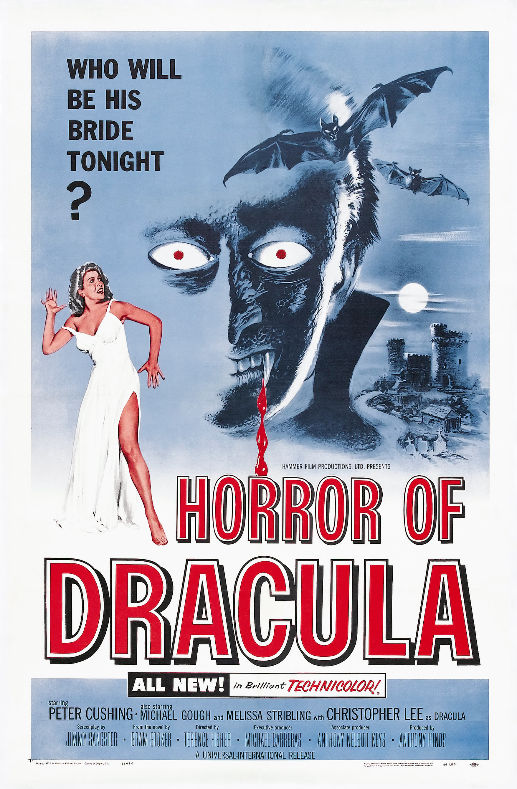 Horror of Dracula (1958) Technical Specifications
