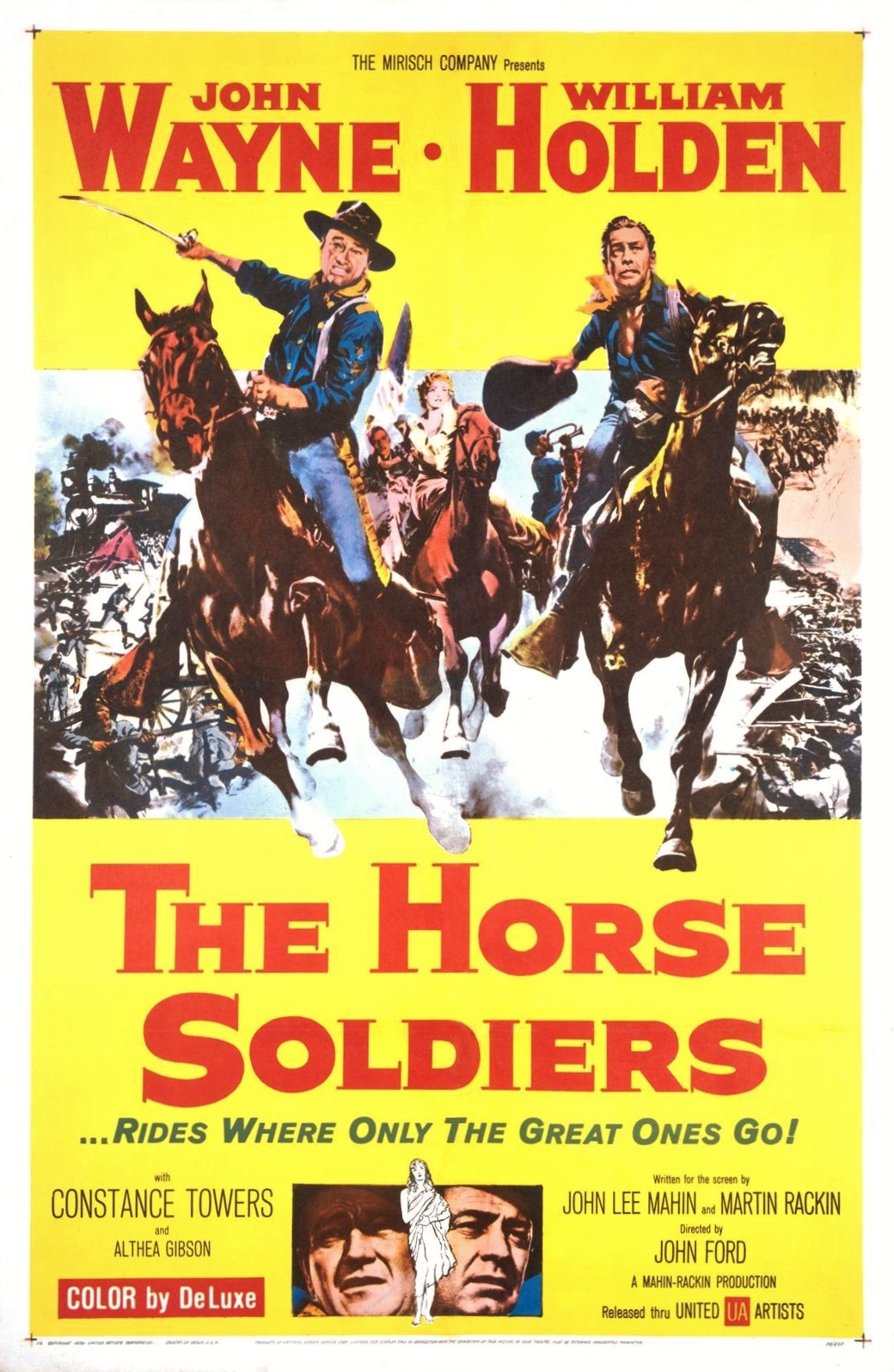 The Horse Soldiers (1959) Technical Specifications