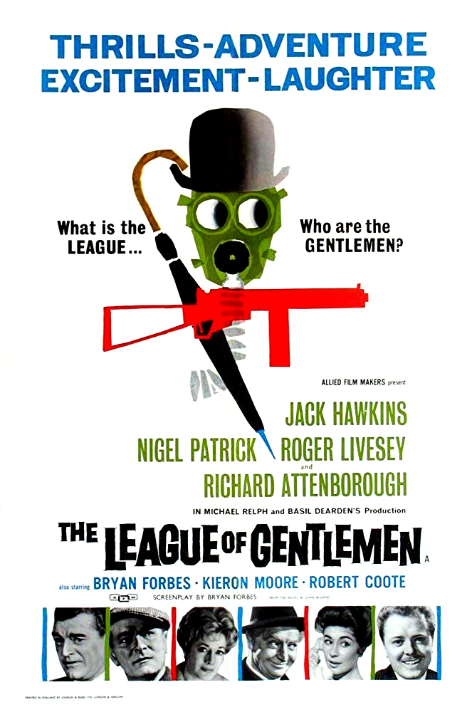 The League of Gentlemen (1960) Technical Specifications