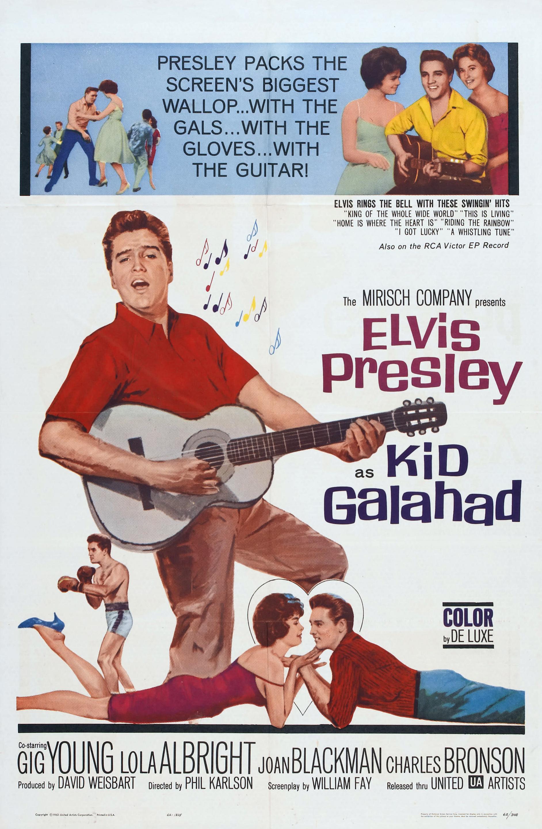 Kid Galahad (1962)  Technical Specifications