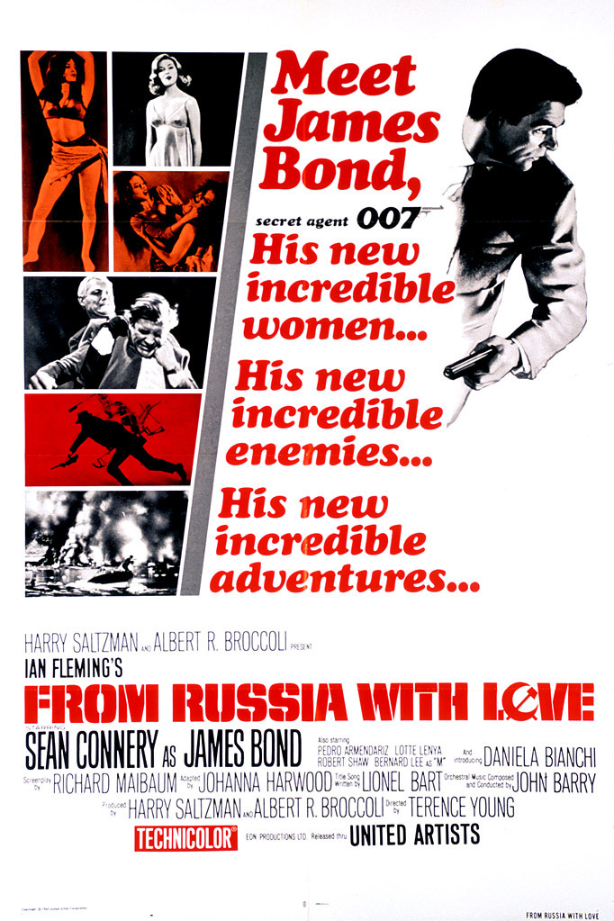 From Russia with Love (1963) Technical Specifications