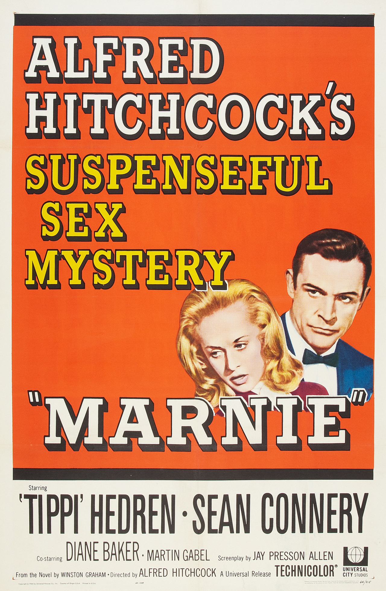 Marnie (1964) Technical Specifications