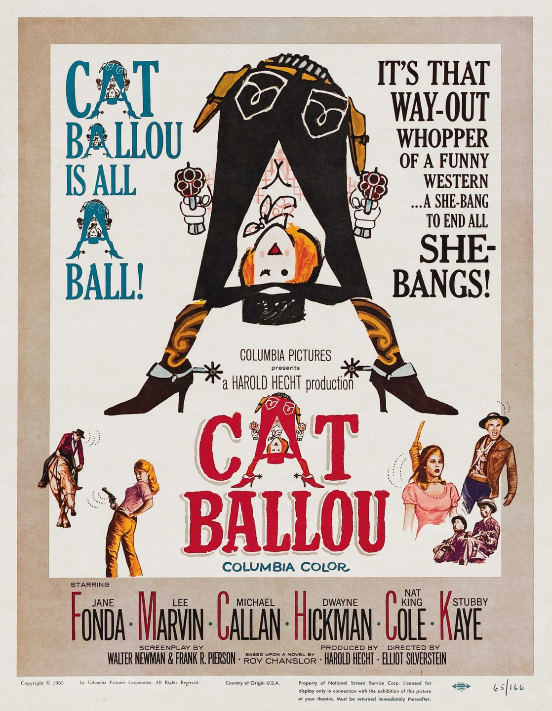 Cat Ballou (1965) Technical Specifications