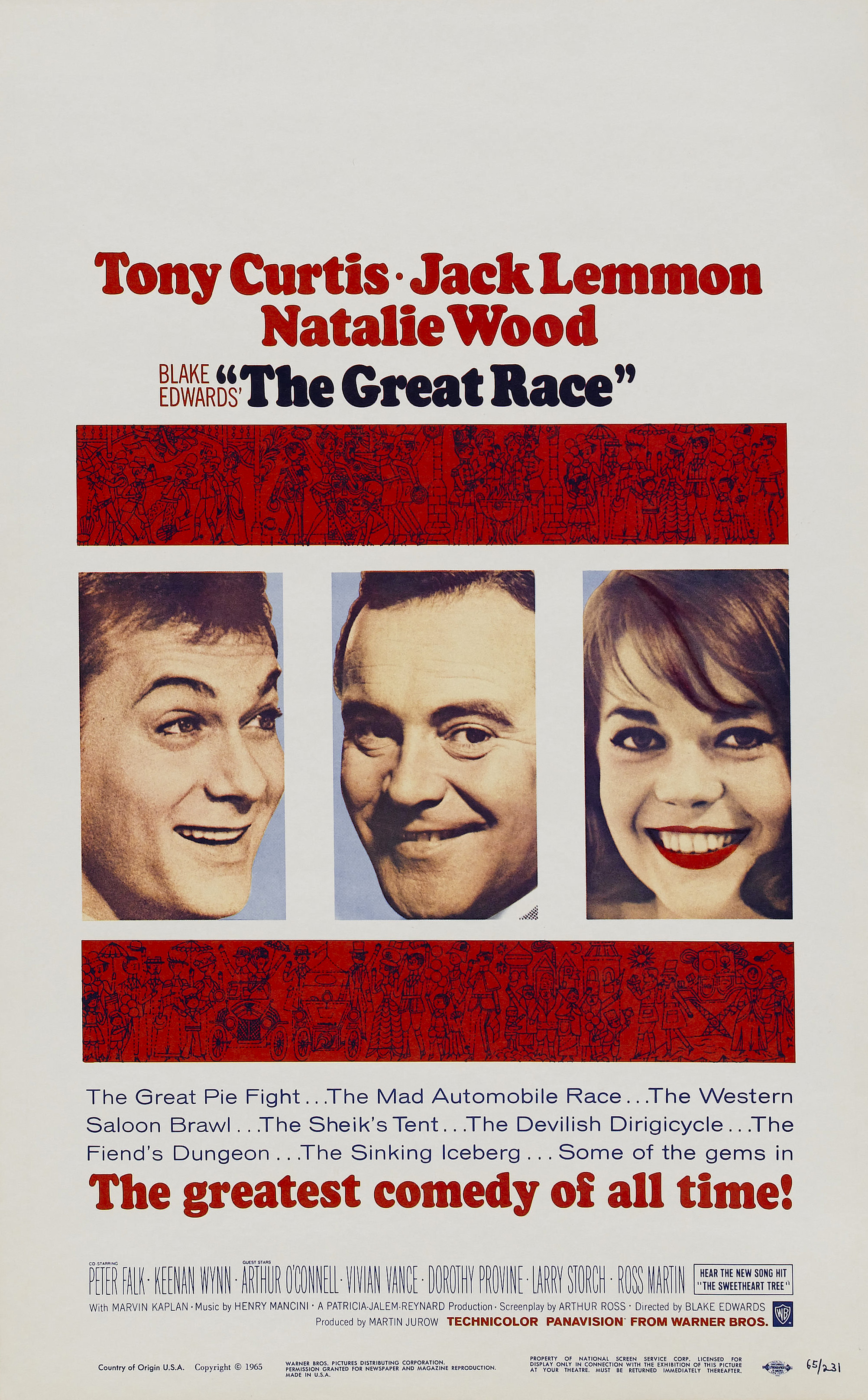The Great Race (1965) Technical Specifications
