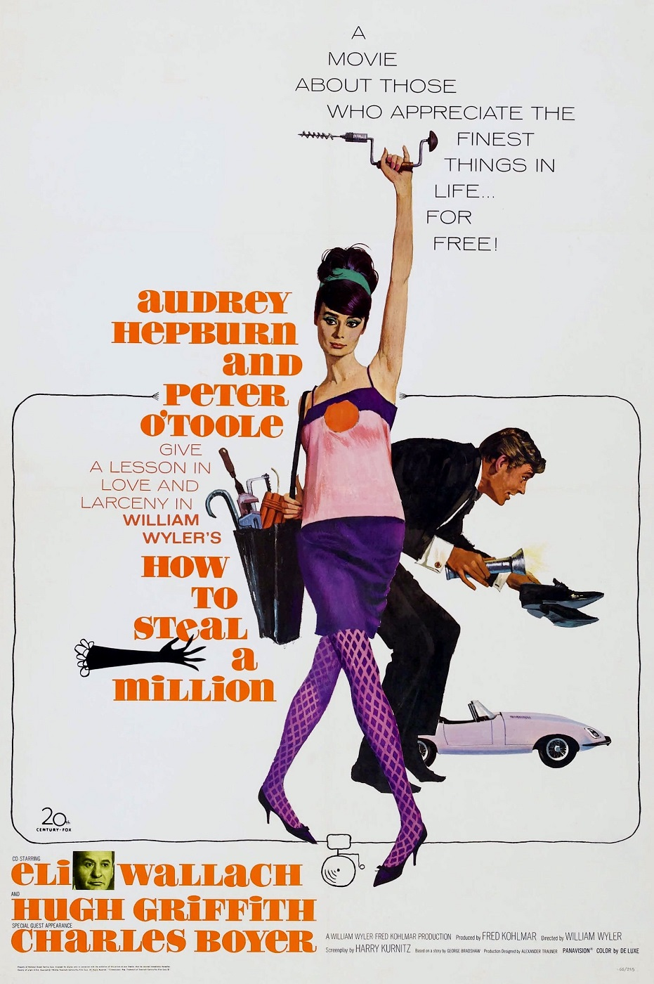 How to Steal a Million (1966) Technical Specifications