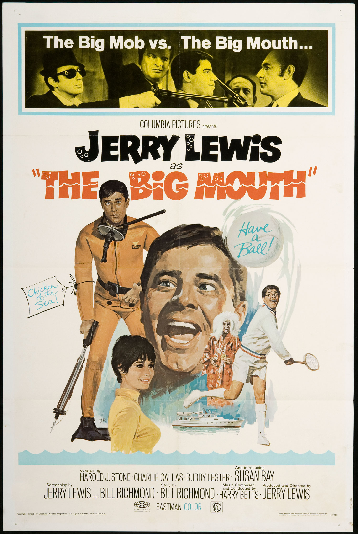 The Big Mouth (1967) Technical Specifications