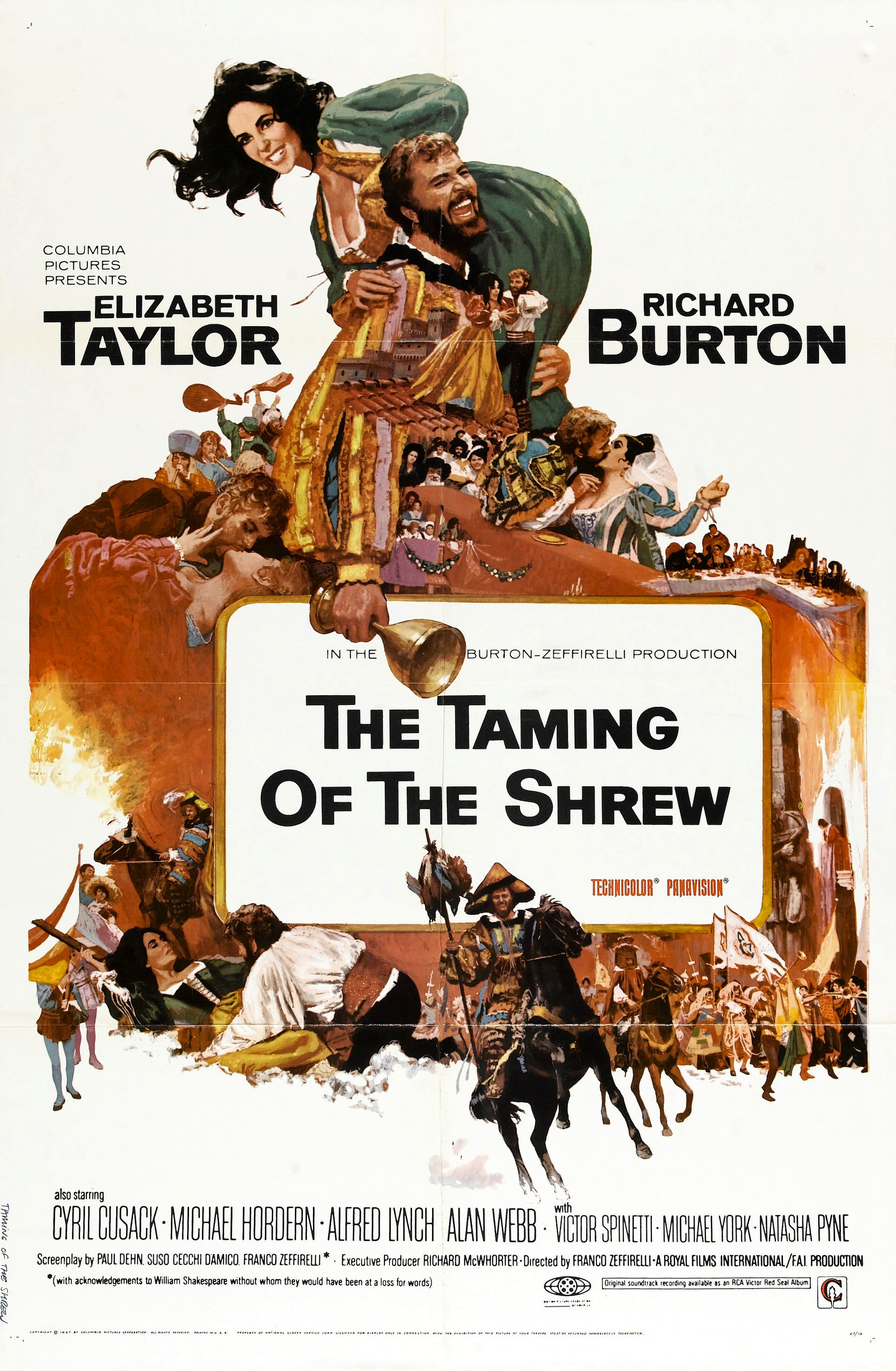 The Taming of the Shrew (1967) Technical Specifications