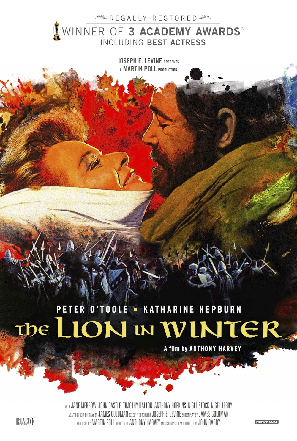 The Lion in Winter (1968) Technical Specifications