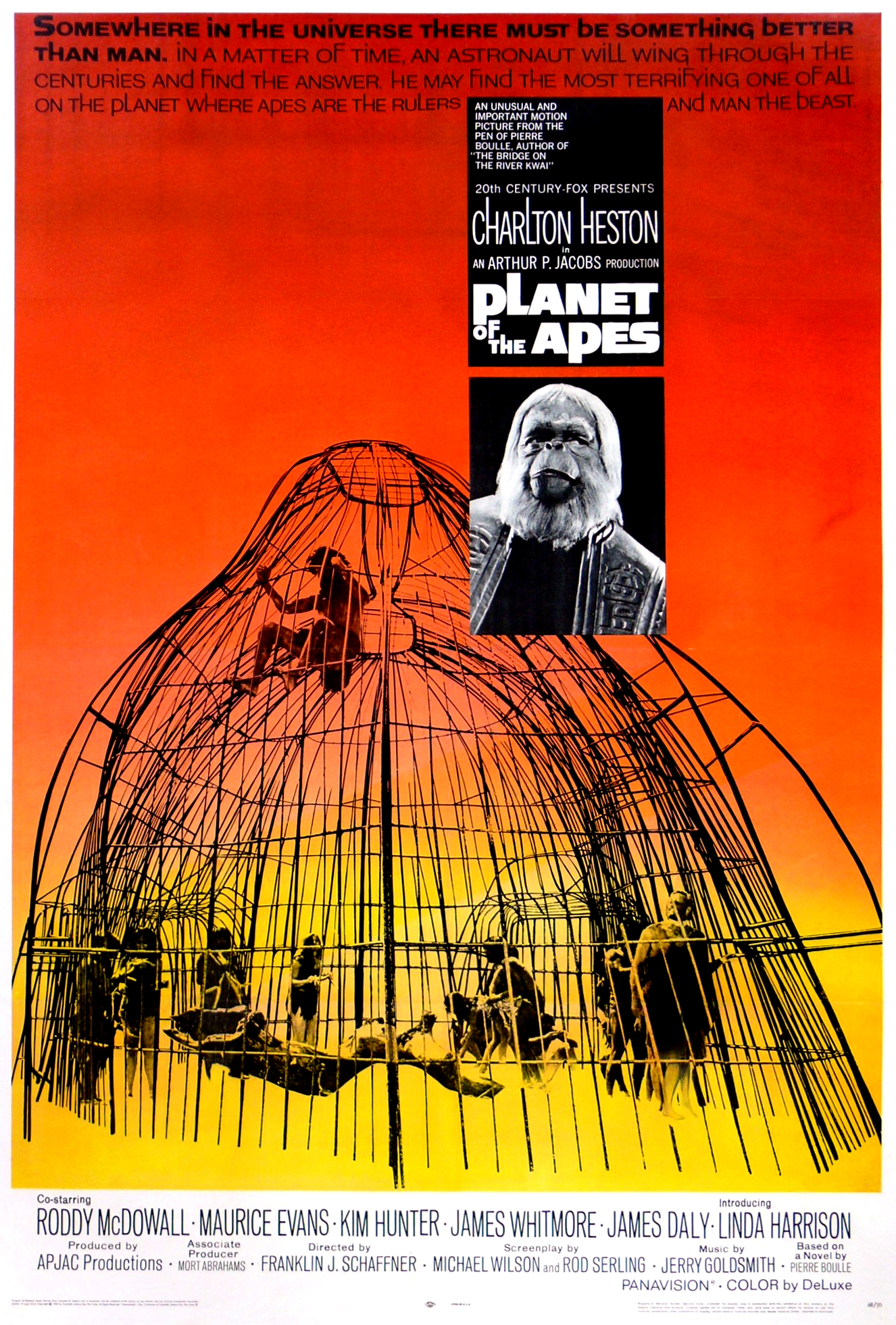 Planet of the Apes (1968) Technical Specifications