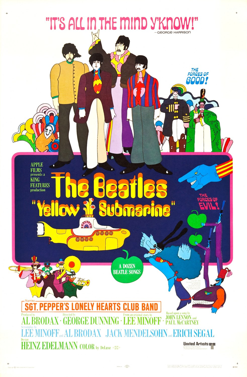 Yellow Submarine (1968) Technical Specifications