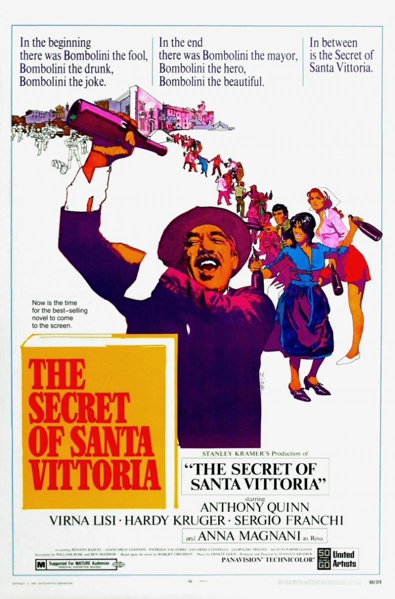 The Secret of Santa Vittoria (1969) Technical Specifications