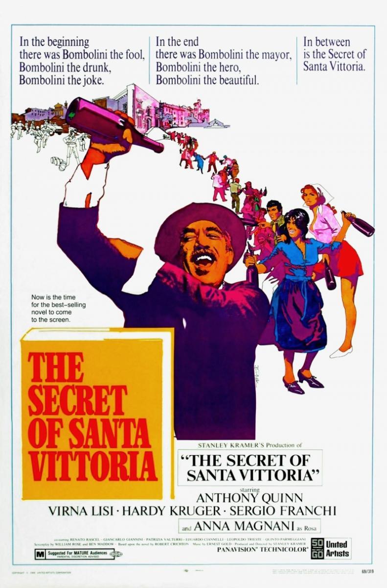 The Secret of Santa Vittoria (1969) Technical Specifications