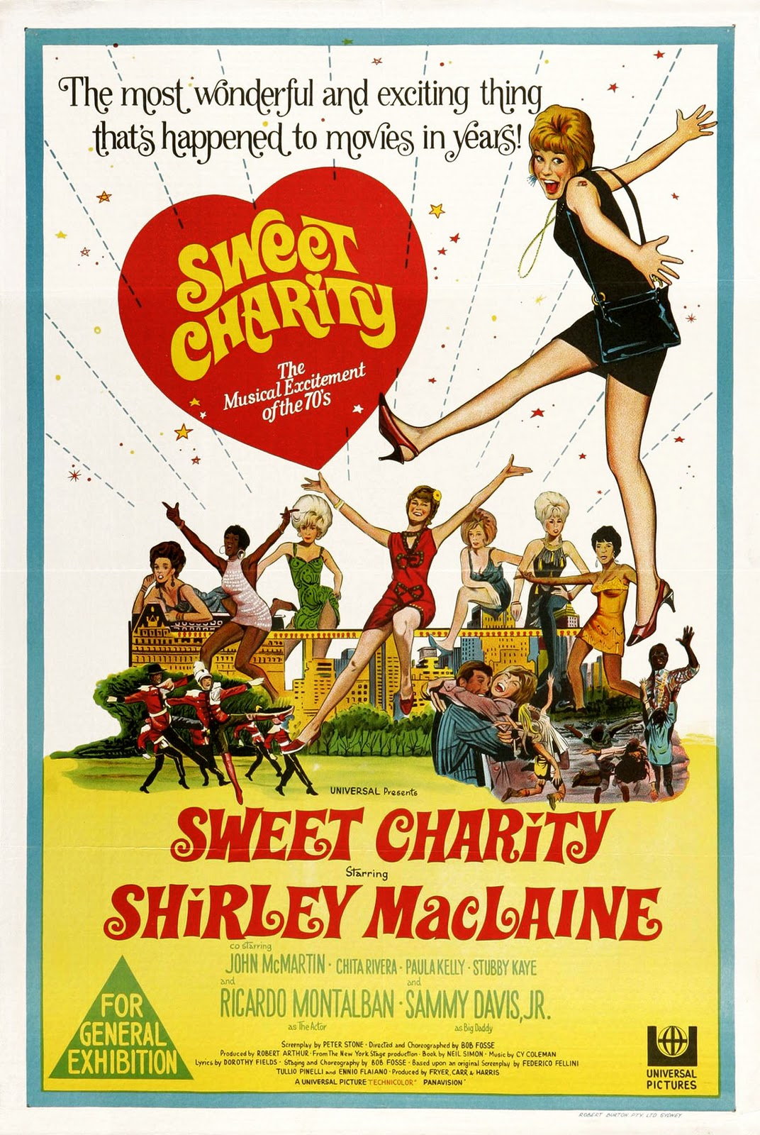 Sweet Charity (1969) Technical Specifications