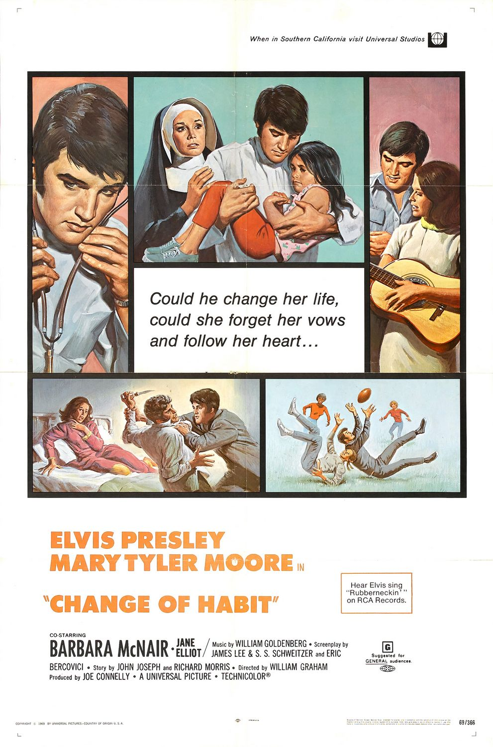 Change of Habit (1969)  Technical Specifications