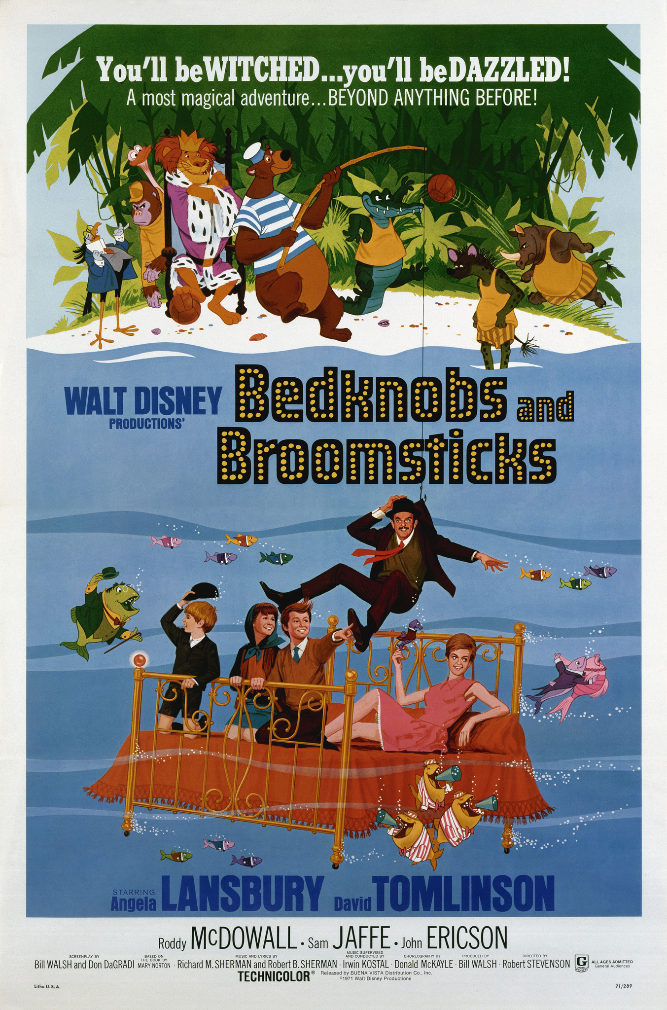 Bedknobs And Broomsticks (1971) Technical Specifications