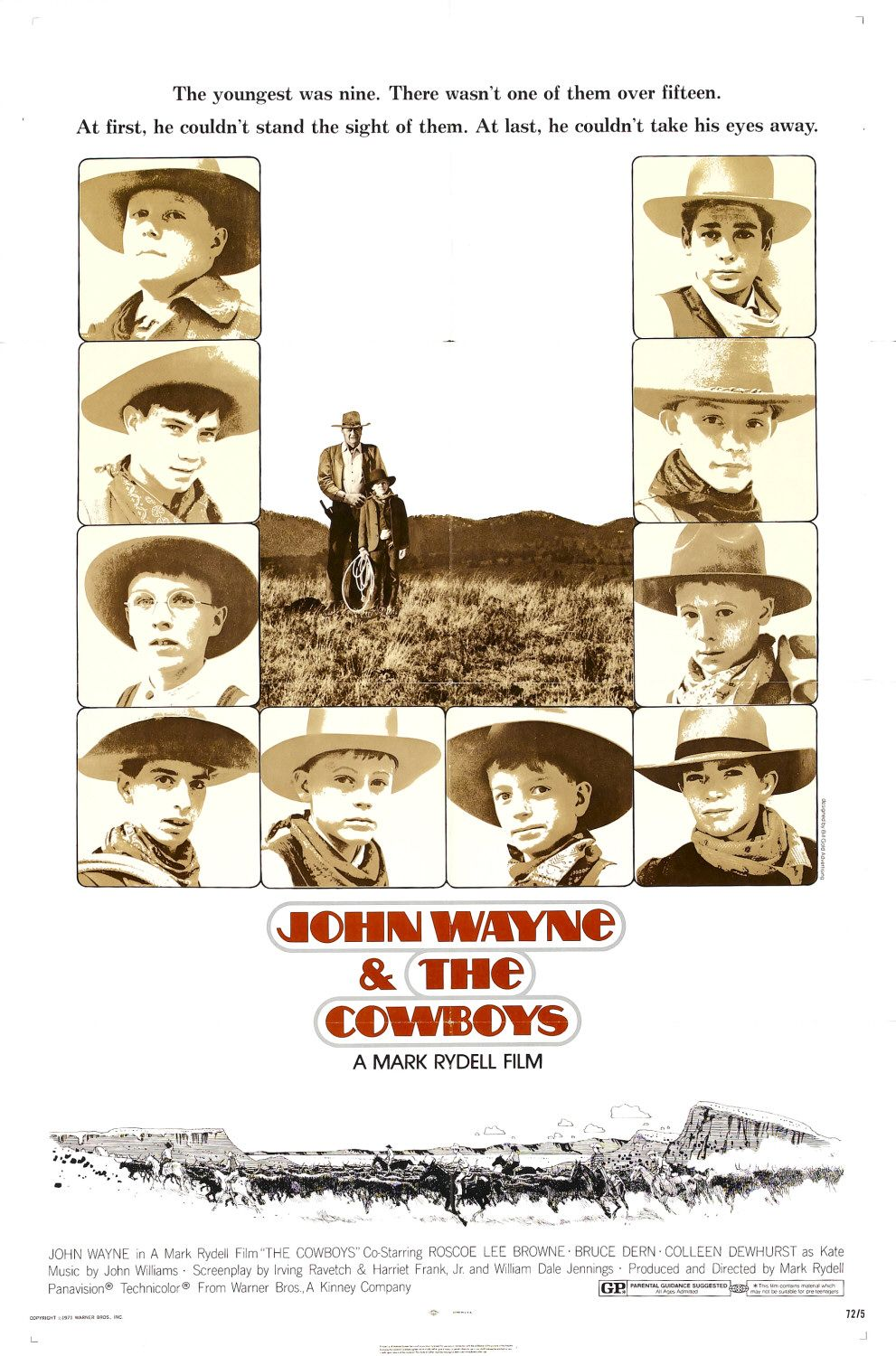 The Cowboys (1972) Technical Specifications