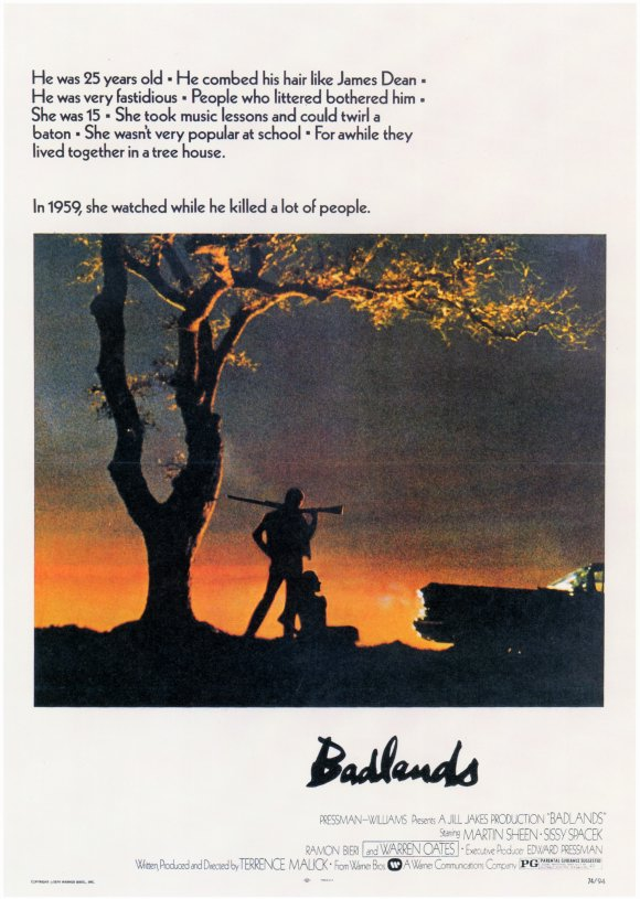 Badlands (1973) Technical Specifications