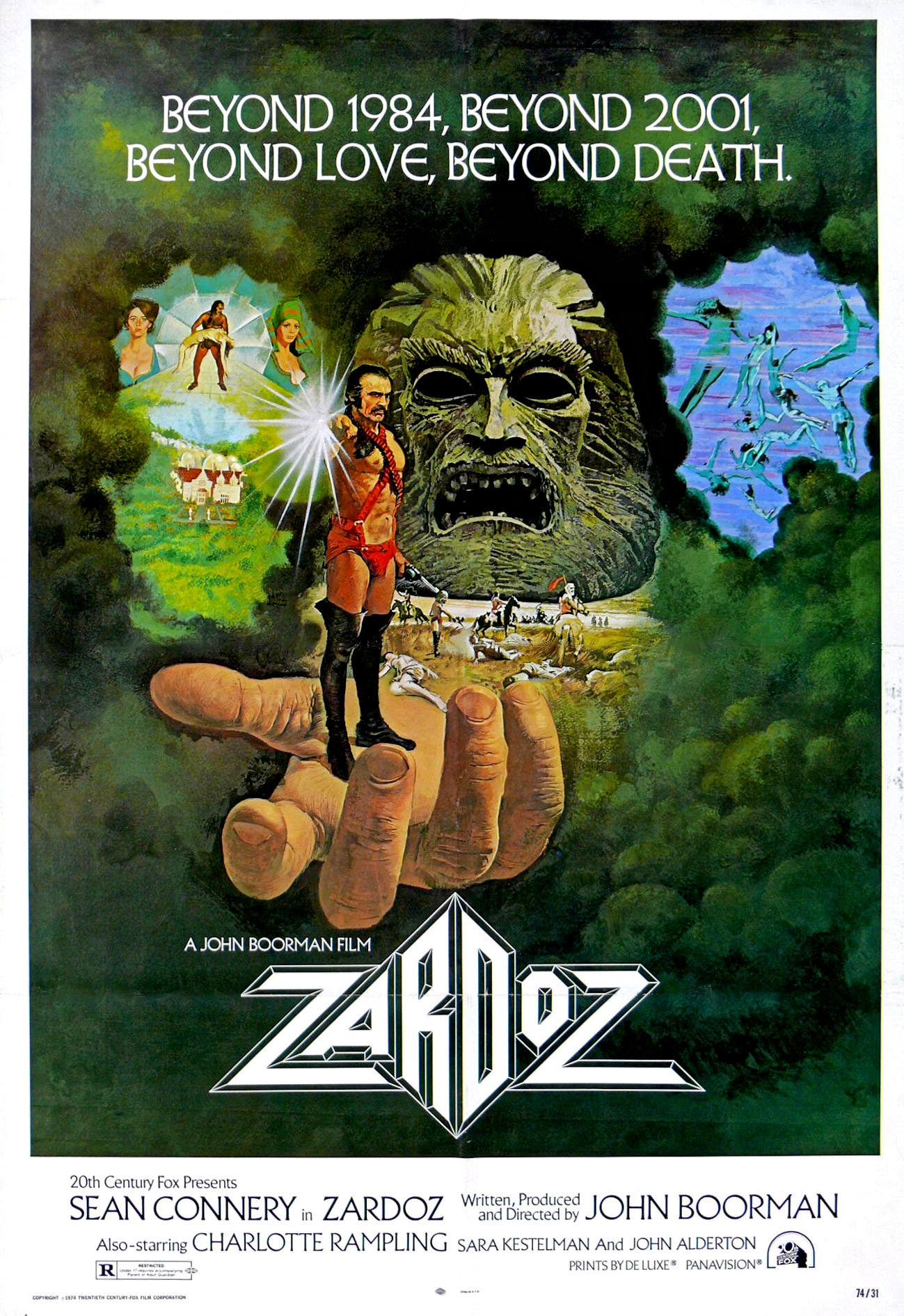 Zardoz (1974) Technical Specifications