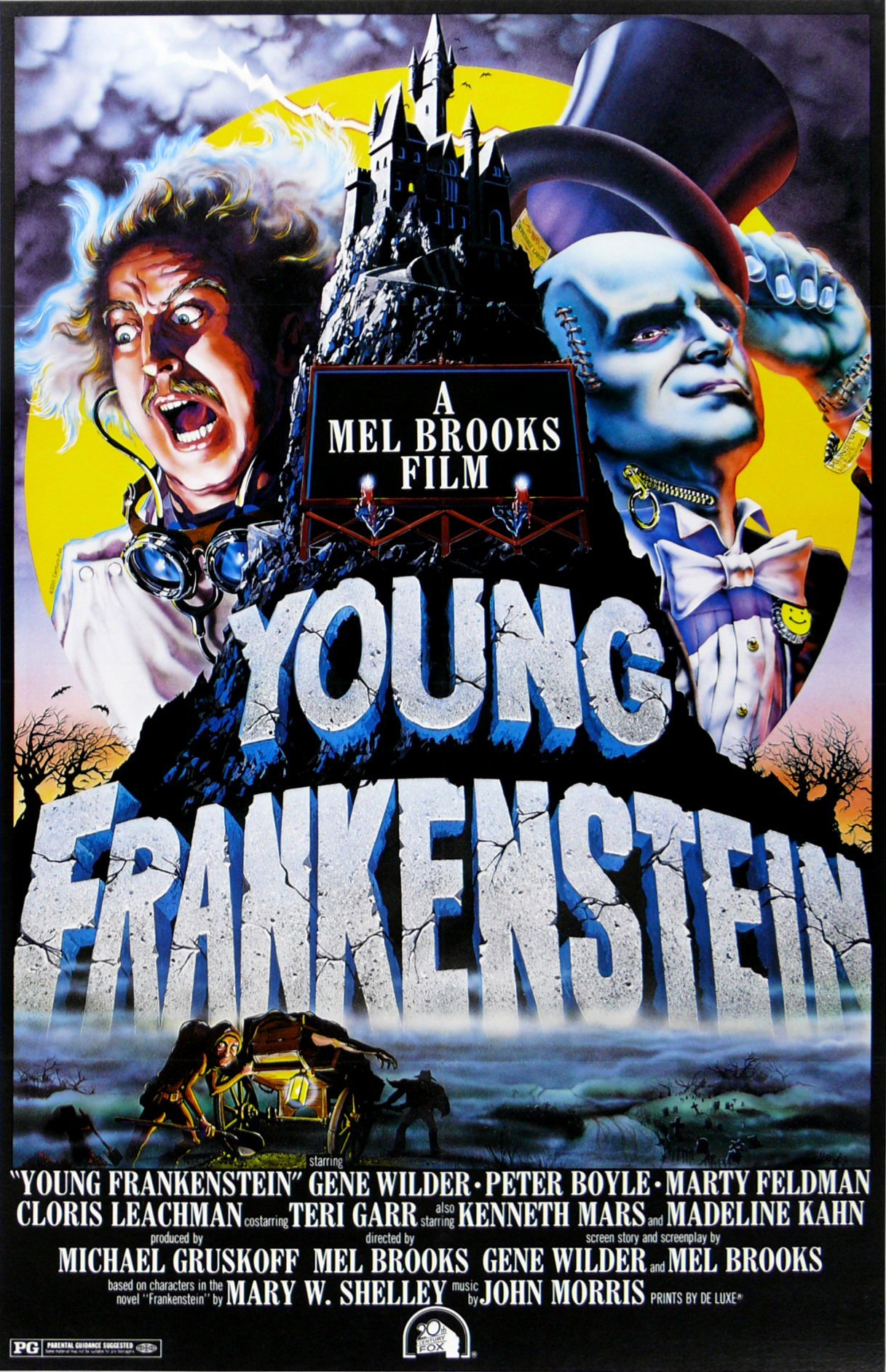 Young Frankenstein (1974) Technical Specifications