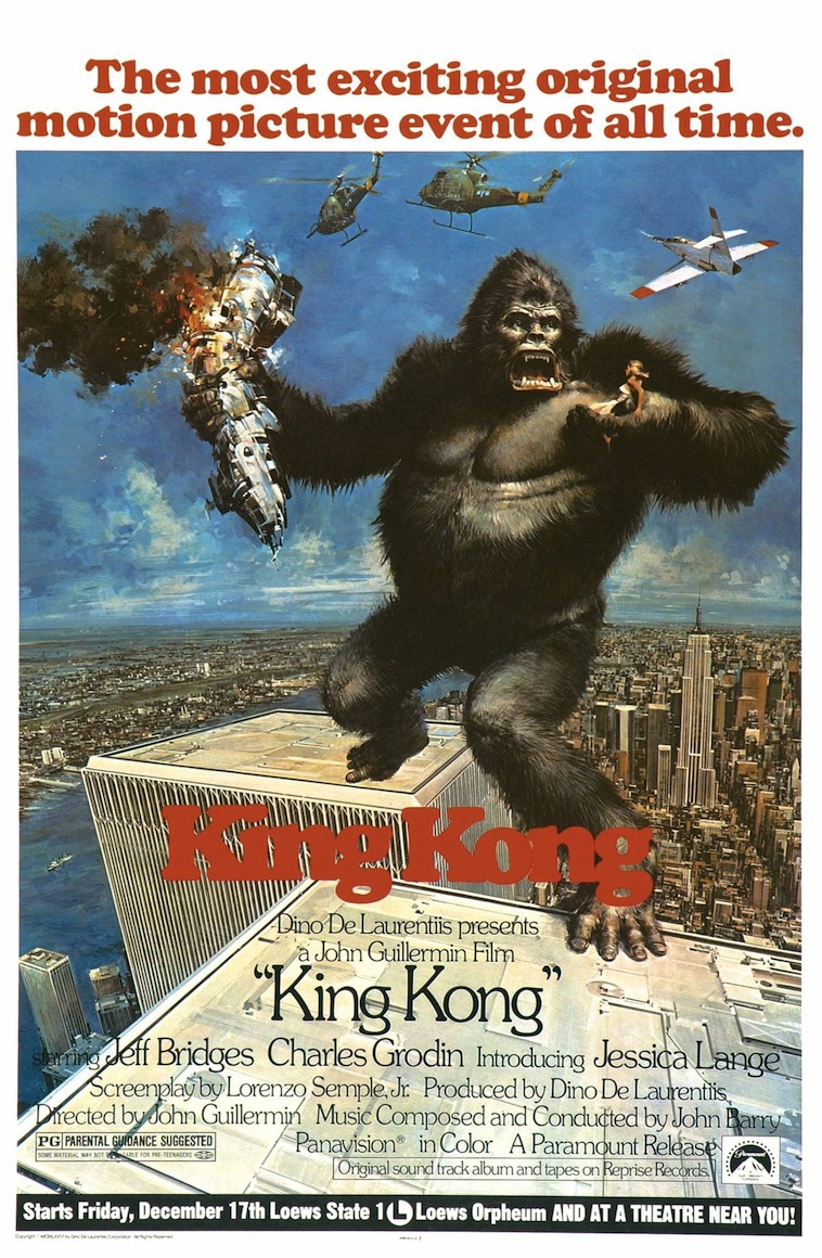 King Kong (1976) Technical Specifications