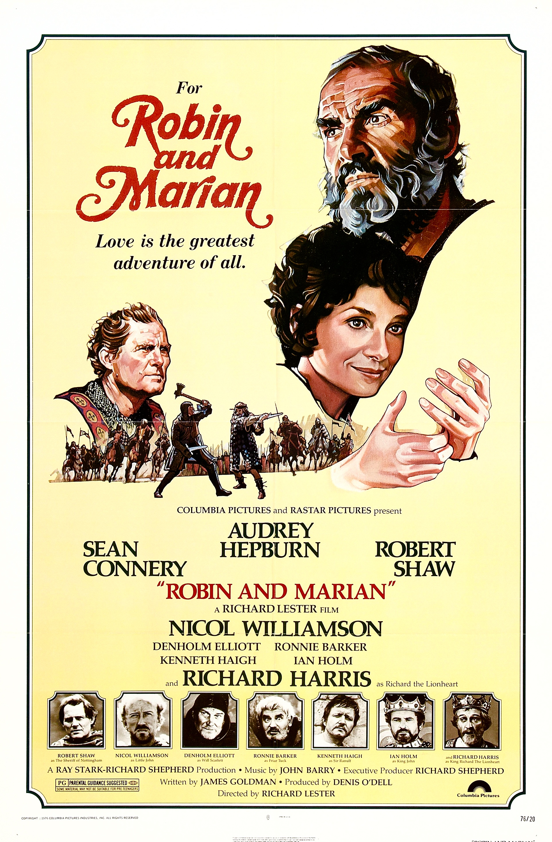 Robin and Marian (1976) Technical Specifications