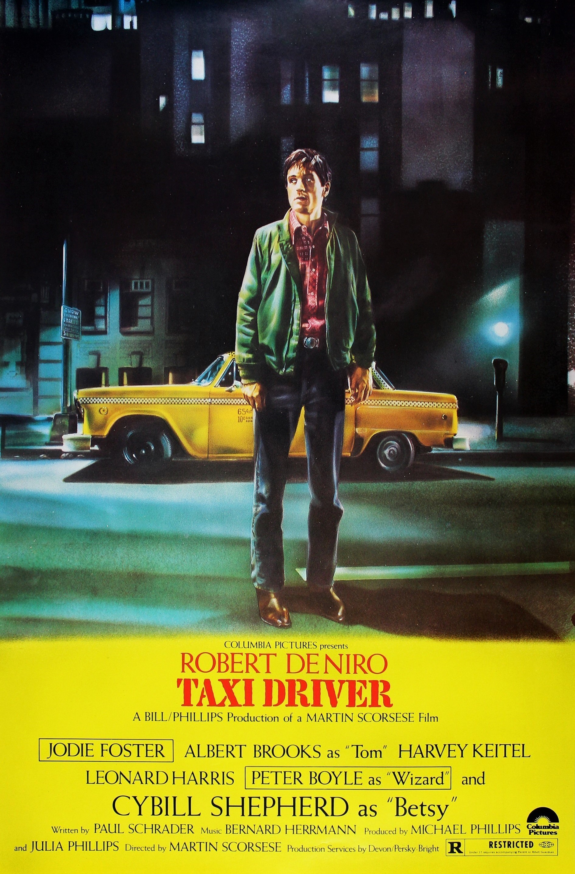 Taxi Driver Technical Specifications